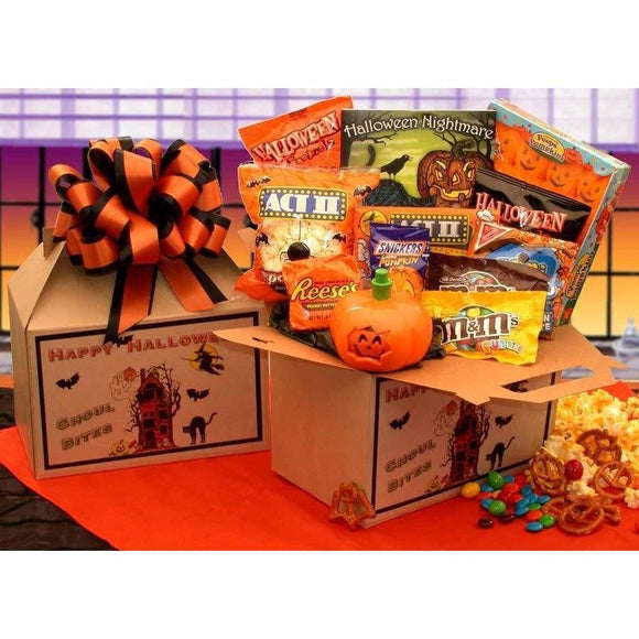 Ghoul Bites Halloween Care Package - Fine Gifts La Bella Basket Company