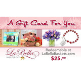 Gift Cards - Fine Gifts La Bella Basket Company