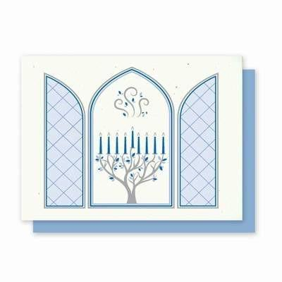 Hanukkah Chanukah Plantable Greeting Cards- 5 Pack - Fine Gifts La Bella Basket Company