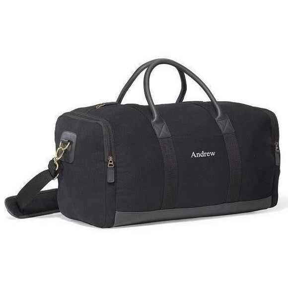 Heritage Supply Duffel Bag Personalized - Fine Gifts La Bella Basket Company