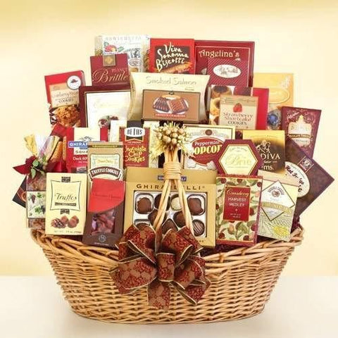 Holiday Gourmet Grandeur Gift Basket