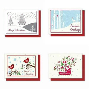 Holiday Variety Pack 1 - Plantable Greeting Cards - Fine Gifts La Bella Basket Company