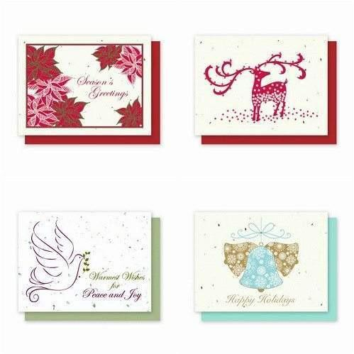 Holiday Variety Pack 2 - Plantable Greeting Cards - Fine Gifts La Bella Basket Company