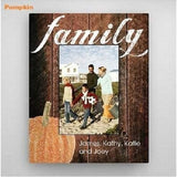 Holiday-Fall-Family Picture Frame - Fine Gifts La Bella Basket Company