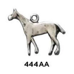 Horse Charm - Sterling Silver - Fine Gifts La Bella Basket Company