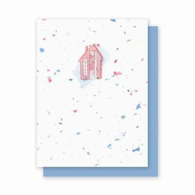 House Plantable Greeting Cards - 4 Pack - Fine Gifts La Bella Basket Company