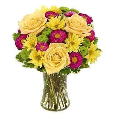 Its A Beautiful Day Flower Bouquet - Fine Gifts La Bella Basket Company