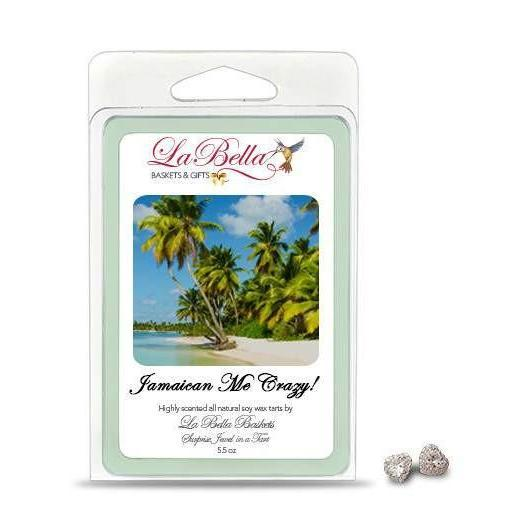 Jamaican Me Crazy Jewelry Soy Wax Jumbo Tart Melts - Fine Gifts La Bella Basket Company