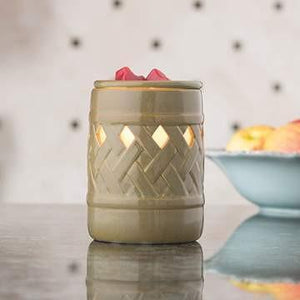 Lattice Fragrance Candle Warmer - Fine Gifts La Bella Basket Company