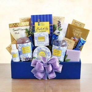 Lavender Relaxation Gift - Fine Gifts La Bella Basket Company