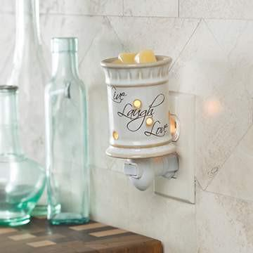 Live Laugh Love Plug-in Warmer - Fine Gifts La Bella Basket Company