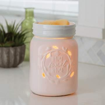 Mason Jar Candle Warmer - Fine Gifts La Bella Basket Company