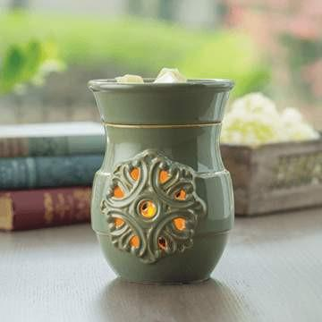 Medallion Candle Warmer - Fine Gifts La Bella Basket Company