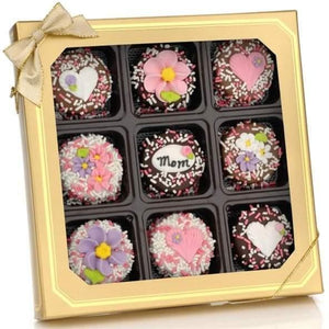Mom Oreos Wrapped In Gourmet Belgian Chocolates - Fine Gifts La Bella Basket Company