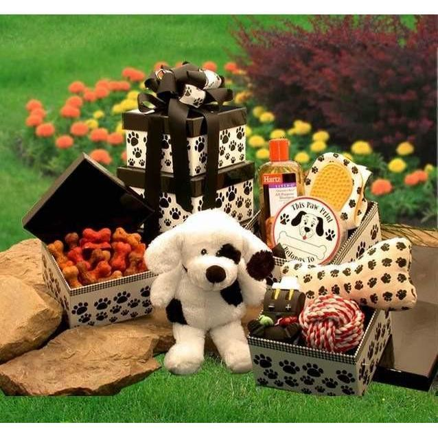 Patches Doggie Tower - Fine Gifts La Bella Basket Company
