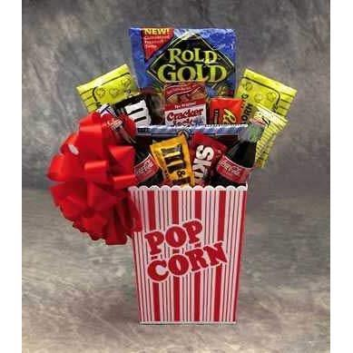 The Popcorn Pack gift basket - It's America's favorite snack