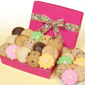 Pretty Pink Box of 8 Cookies