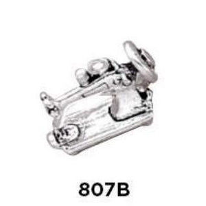 Sewing Machine Sterling Silver Charm - Fine Gifts La Bella Basket Company
