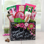 Spa Gift Box with Exotic Lily - Fine Gifts La Bella Basket Company