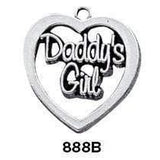 Sterling Silver Charms for Dads - Fine Gifts La Bella Basket Company