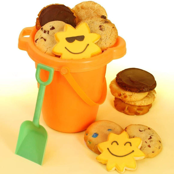 Summer Cookie Pail - Fine Gifts La Bella Basket Company