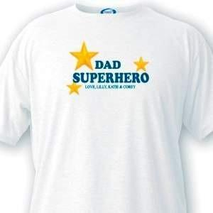 Superhero Dad T - Shirt - Fine Gifts La Bella Basket Company