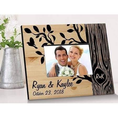 The Tree of Love Wooden Picture Frame - Fine Gifts La Bella Basket Company