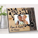 The Tree of Love Wooden Picture Frame