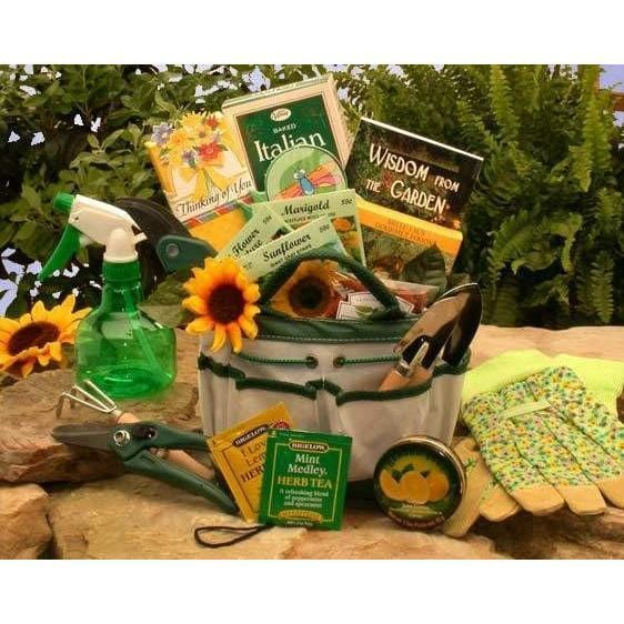 The Weekend Gardener Tote - MED - Fine Gifts La Bella Basket Company