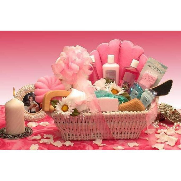 Ultimate Relax Spa  The Ultimate Spa gift basket gifts your lady with everything she needs for a luxurious bath and spa treat!