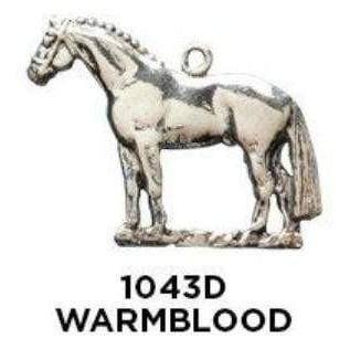 Warm Blood Horse Charm - Fine Gifts La Bella Basket Company