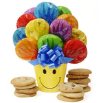We Make You Smile Cookie Bouquet - Fine Gifts La Bella Basket Company