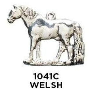 Welsh Pony Charm - Sterling Silver - Fine Gifts La Bella Basket Company