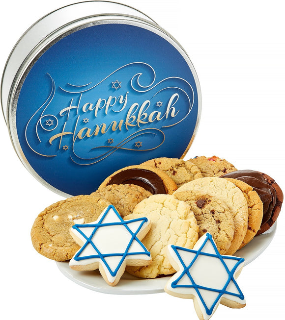 Hanukkah Cookie Tin