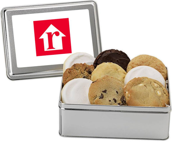 Logo Cookie Tin - Fine Gifts La Bella Basket Company