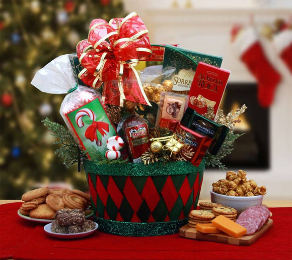 A Holiday Affair Gift - Fine Gifts La Bella Basket Company