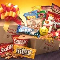 Treats For Troopers Snack - Fine Gifts La Bella Basket Company