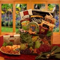 The Bistro Gourmet Gift Box - Fine Gifts La Bella Basket Company