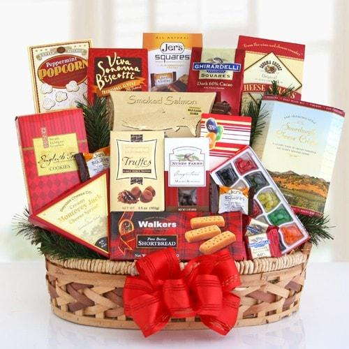 For Any Occasion Gift Basket - Fine Gifts La Bella Basket Company