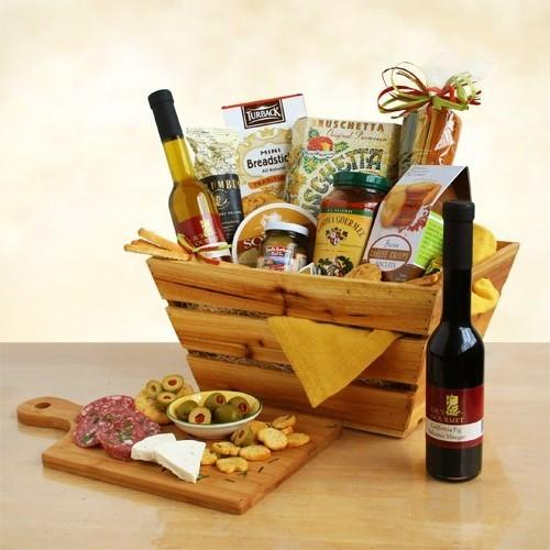 Italian Style Celebration Gourmet Gift Crate