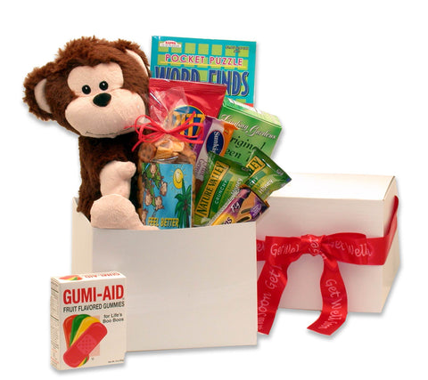 Hang In There Get Well Care Package - Fine Gifts La Bella Basket Company