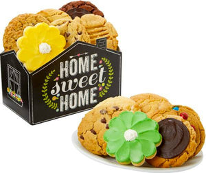 12 Home Sweet Home Cookies - Fine Gifts La Bella Basket Company
