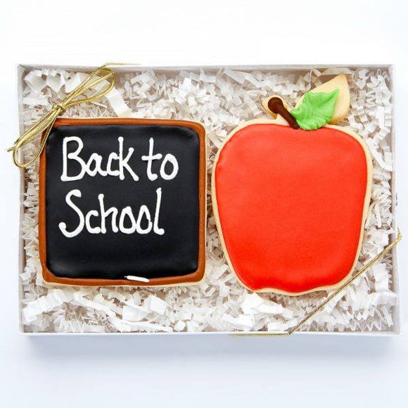 Back To School Cookies - Fine Gifts La Bella Basket Company
