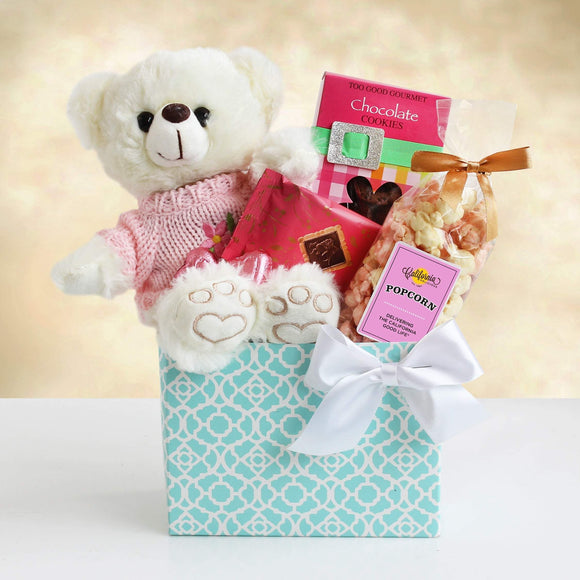 Mom Bear Hugs - Fine Gifts La Bella Basket Company