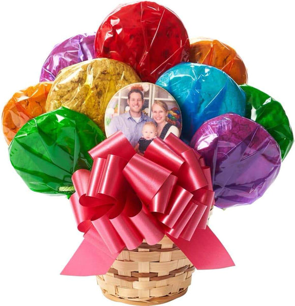Photo Cookie Bouquet