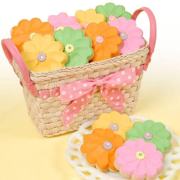 Basket Full Of Daisies - Fine Gifts La Bella Basket Company