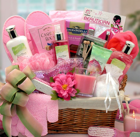 Sweet Bloom Gift Basket - Fine Gifts La Bella Basket Company