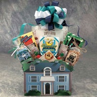 Welcome Home Gift Basket in Medium and Large Sizes - Fine Gifts La Bella Basket Company
