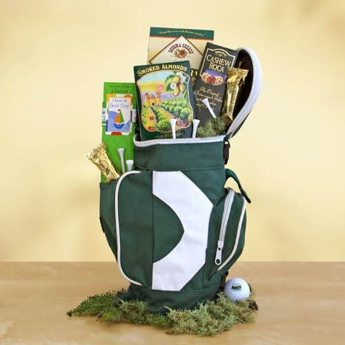 Caddy Snacks Golf Gift - Fine Gifts La Bella Basket Company