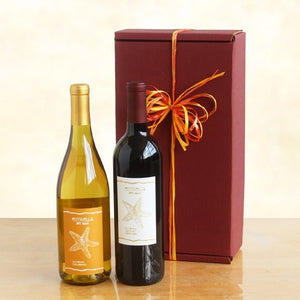 Duo Wine Gift - Fine Gifts La Bella Basket Company
